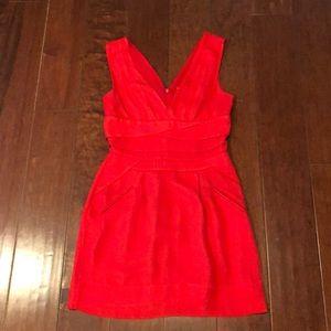 BCBG Red Cocktail Dress